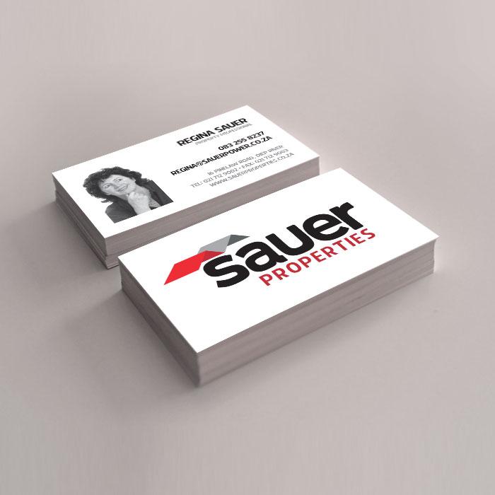 Business Card Design - NB Media